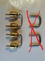 3130 3120 NAD AMPLIFIER:  Pre Out / Main in REPLACEMENT LINKS. Pair .Plated.