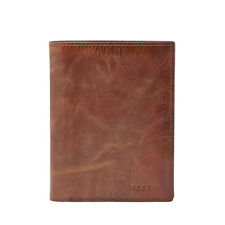 Fossil Men's Derrick RFID International Combination Brown Wallet ML3686200