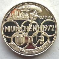 Al Fujairah 1969 Olympics 5 Riyals Silver Coin,Proof