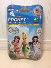 Vtech V.Smile Pocket Motion Disney Fairies Tinkerbell Game Cartridge Age 4-6 NEW