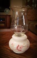 Vintage Lasting Products Porcelain Hand Painted Rose Floral Votive Candle Holder
