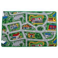 Car Play Mat New Children's Floor Rug Kids SUBURBS Streets Nursery 94cm x 133cm