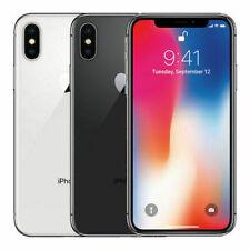 Iphone Apple X - 64GB-Verizon GSM Desbloqueado At&t T-Mobile-cinza espacial, Prata