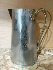 New listing Michael Aram Ivy & Oak Hand Pitcher - Textured Stainless Steel - 54oz - 123500