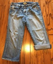 BKE Buckle Denim Capris Size 26