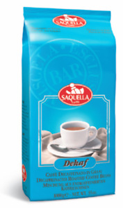 Saquella Decaffeinated Coffee Beans 1Kg