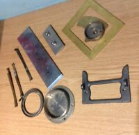 Antique Clock Straps And Case  Spare Parts Ex Clockmakers Spare Parts Collection