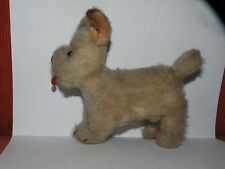 VINTAGE CHAD VALLEY MOHAIR STRAW STUFFED toy DOG 1930 terrier