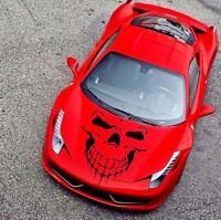 Skull Skeleton Body Decal Large Window Car Hood Side Door Sticker Vinyl  Emblem