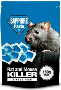 Lodi Sapphire Paste Rat and Mouse Killer 150g