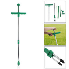 More details for garden steel weeding root weed puller twister claw weed remover killer hand tool