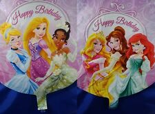 2 pcs x Disney Princess Helium Party Round Balloon decoration 45cm x 45 cm