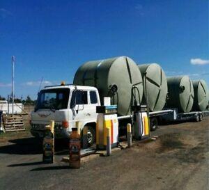 54,000lt Food Grade Poly Water Tank Package = 4 x 13,500lt Rainwater Tanks