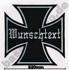 Patch Patch nº 3 Iron Cross deseo texto Patch Patch emblemas cruz cruz