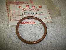 NOS HONDA CB450K CB500T CL450 XL350 OEM EXHAUST PIPE GASKET 18291-283-010