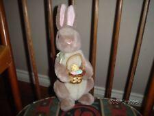 Gund Disney Classic Pooh 1996 Bunny Rabbit Egg Basket RARE
