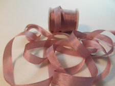 7 mm 100%  Silk  Ribbon / Dusty Rose