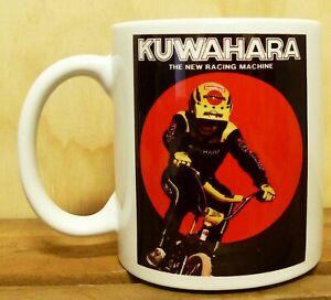300ML CERAMIC COFFEE MUG - VINTAGE BMX - KUWAHARA