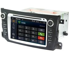 Autoradio Navigatore Dab+ Mirrorlink Android 7.1.2 Per Smart Fortwo Stereo 2 Din