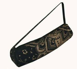 Noir Or Couleur Handmade Coton Mandala Hippie Ombre Portable Chef Apparence Sac