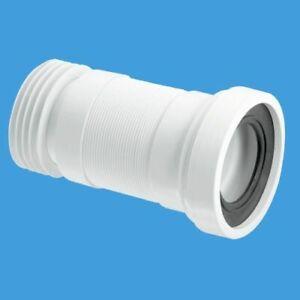 McAlpine WC-F26R Flexible W.C Pan Toilet Connector x 2