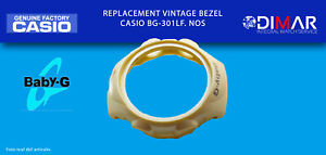 Replacement Vintage Original Bezel Casio BG-301LF. NOS