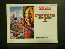Disney's Chip 'N Dale: Rescue Rangers 2 (Nintendo) NES Manual Only