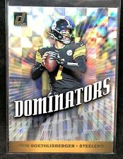 Ben Roethlisberger 2019 Donruss Dominators Refractor Steelers
