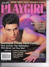 PLAYGIRL SEPTEMBER   2000 CHRIS BLAKE BREAK HIM IN