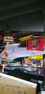 STAR WARS NABOO ROYAL STARSHIP Electronic Blockade Cruiser