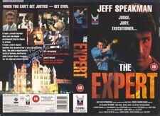 The Expert, Jeff Speakman VHS Video Promo Sample Sleeve/Cover #9199