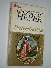 Vintage Pan Paperback - THE SPANISH BRIDE by Georgette Heyer