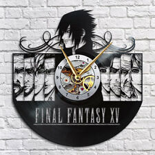 Final Fantasy 15 Vinyl Record Wall Clock