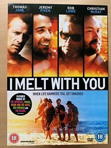 I Melt With You 2011 Thomas Jane American Indie Cult Film UK DVD with Slipcover