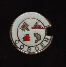 Cobden Ontario Metal Pin Pinback - Very Good