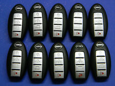 LOT OF 10 NISSAN KEYLESS ENTRY SMART REMOTE FOB OEM  WITH TRUNK KR55WK48903