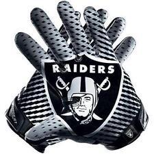"Oakland Raiders 5.5""x 6"" Car Truck Window Vinyl Glossy Sticker Decal Gloves"