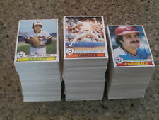 1979 Topps HIGH GRADE Baseball Pick 20 NM-MT NM+ STARS Complete your set choose