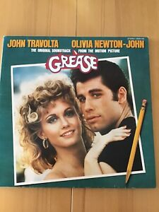 JOHN TRAVOLTA OLIVIA NEWTON-JOHN, GREASE,original Soundtrack Doppel-LP-Vinyl  78