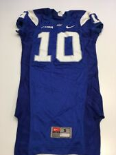 Game Worn Used Nike Middle Tennessee St Blue Raiders Football Jersey Size S #10