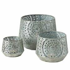 CasaJame Home Decor Accessories Candleholder Design Set of 3 Decorative Candle