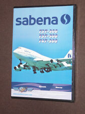 JUST PLANES COCKPIT VIDEO DVD  :      SABENA   747-300      new & sealed