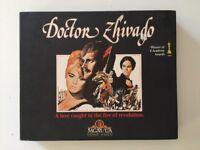 Rare Collectible Doctor Zhivago VHS Box Set Part 1 & 2 Video Tapes Vintage VGC