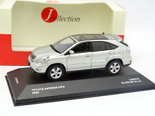 J Collection 1/43 - Toyota Harrier Airs 2006 Silver