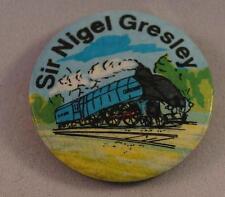 Vintage Sir Nigel Gresley Railroad Pin Pinback Button Badge
