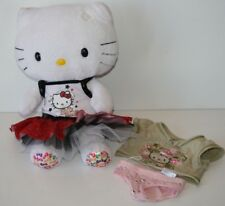 Build a Bear Plush 35th Anniversary Hello Kitty With Additional Outfit