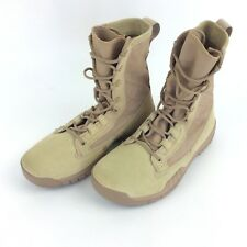 "Nike SFB Field 8"" Military Boots British Khaki Mens Tactical Size 6M New"