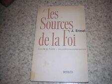 1963.les sources de la foi / Ermel.concile de Trente