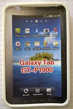 """Tablet Schale Softcase für Samsung Galaxy GT-P1000  7"""" mit Aufstellfunktion weiß"""