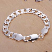 Damenarmband Schlangenkette Anhänger Herz 20cm pl mit Sterlingsilber DA271 T::A